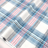Art Gallery Fabric Dare Wafting Plaid Traced - Cotton - Half Yard