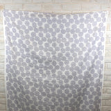 Kokka Muddy Works by Tomotake Mini Anpan - Double Gauze - Grey - 50cm - Nekoneko Fabric