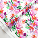 Nerida Hansen Ninola Cotton Sateen - Sweet Blooms - 50cm