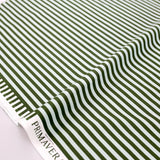 Cotton + Steel Rifle Paper Co Primavera Cabana Stripe - Cotton - Mint - Half Yard - Nekoneko Fabric