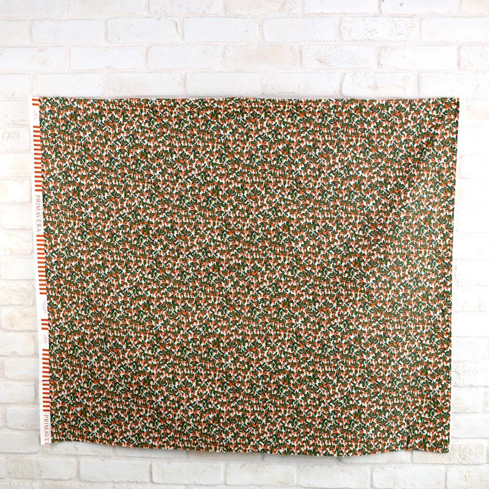 Cotton + Steel Rifle Paper Co Primavera Strawberries - Cotton - Mint - Half Yard - Nekoneko Fabric