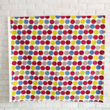 Kobayashi Colorful Circles Cotton Canvas - Beige - Fat Quarter