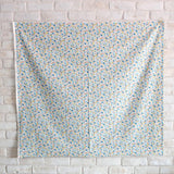 Kobayashi Floral B Cotton Broadcloth - Blue - 50cm