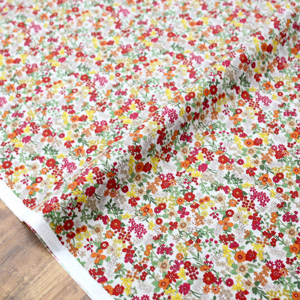 Kokka Floral 6 Cotton Lawn Bundle - 6 x Fat Quarters