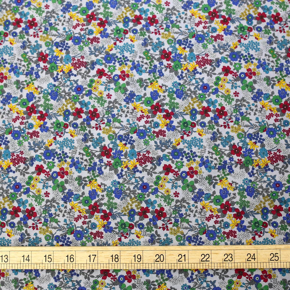 Kokka Floral 3 Cotton Lawn Bundle - 6 x 1m