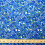 Kokka Floral 6 - Cotton Lawn - Light Blue C - 50cm