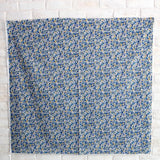 Kokka Floral 6 - Cotton Lawn - Grey Blue B - 50cm