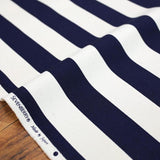 Sevenberry Large Wide Stripes #11 Canvas - Navy - 50cm
