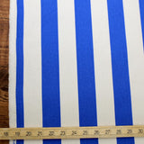 Sevenberry Large Wide Stripes #11 Canvas - Blue - 50cm