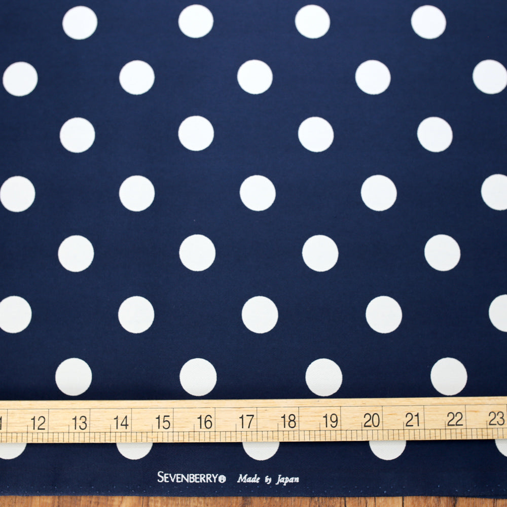 Sevenberry Medium Polka Dots Cotton Twill Bundle - 6 x Fat Quarters