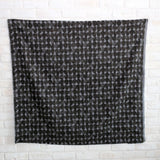 Kokka Textile Painted Dots - Rayon Linen - Grey Black - 50cm