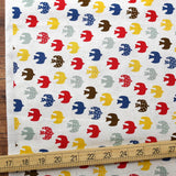 Cosmo Birds - Cotton Sheeting - Beige - 50cm