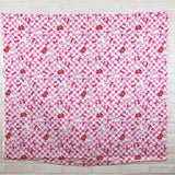 Sanrio Hello Kitty Plaid - Cotton Canvas Oxford - Pink - Fat Quarter
