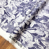 Nerida Hansen Scenic Route Monochrome Native - Cotton Sateen - 50cm