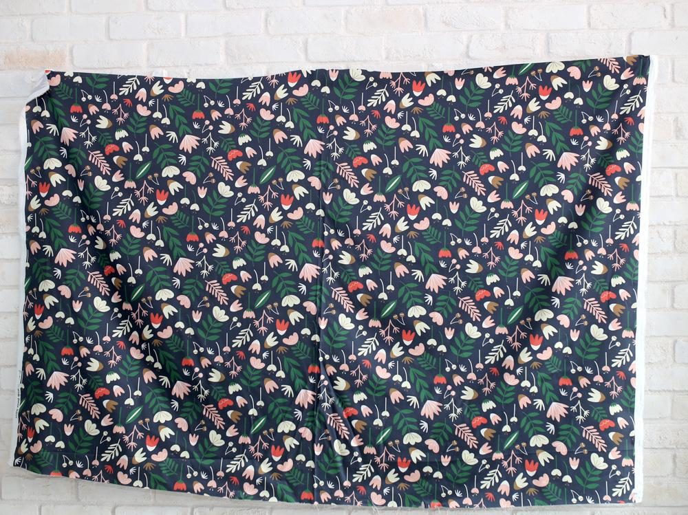 Nerida Hansen Beck Ng Winter Brights - Cotton Sateen - 50cm