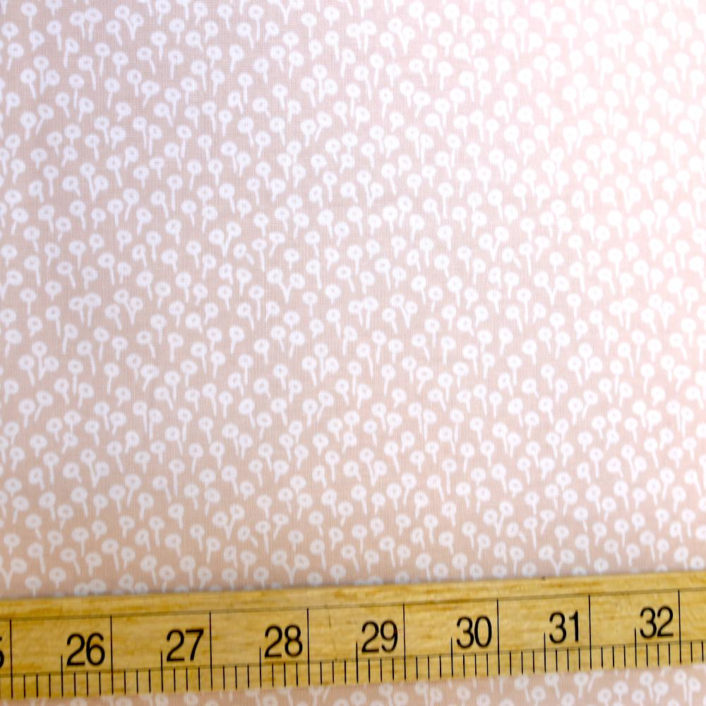 Cotton + Steel Rifle Paper Co Basics Tapestry Dots Cotton - Blush - Half Yard