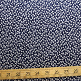 Cotton + Steel Rifle Paper Co Basics Tapestry Dots Cotton - Navy - Half Yard