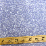 Cotton + Steel Rifle Paper Co Basics Menagerie Champagne Cotton - Periwinkle - Half Yard