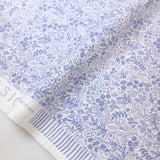 Cotton + Steel Rifle Paper Co Basics Tapestry Lace Cotton - Periwinkle - Half Yard