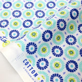 Cotton + Steel Marbella Cotton Loseta - Teal Tone - Fat Quarter