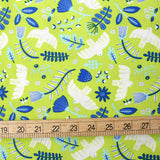 Cotton + Steel Marbella Cotton Free as a Bird Cotton - Limelight - Half Yard