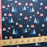 Cotton + Steel Summer Skies Ladybug Land Cotton - Midnight - Half Yard