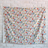 Cotton + Steel Rifle Paper Co Strawberry Fields Rayon - Ivory - Half Yard
