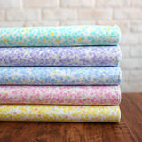 Kobayashi Colourful Dots Cotton Broad - Yellow - 50cm