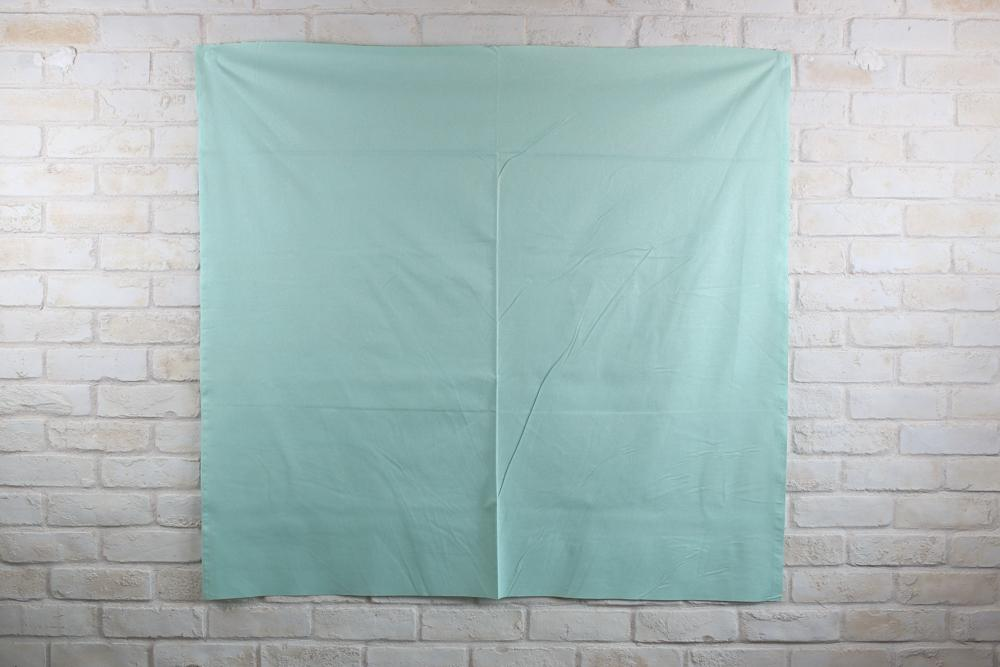Cosmo Solid Glitter - Cotton Sheeting - Mint - 50cm