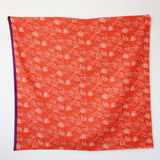 Kokka Echino Grass Double Gauze - Red - 50cm