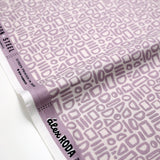 Cotton + Steel Feel the Void Contour Cotton - Spring Lilac - Half Yard