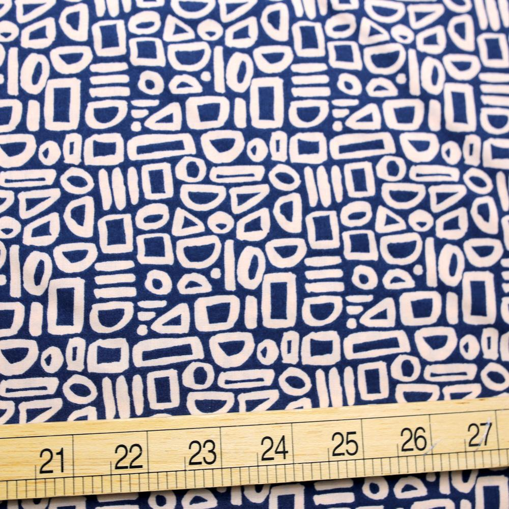 Cotton + Steel Feel the Void Contour Rayon - Space - Half Yard