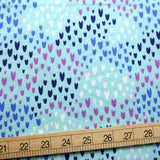 Cotton + Steel Pop! Summer of Love Cotton - Rainwater - Half Yard