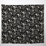 Kiyohara Nanikore Tool Cotton Canvas Oxford - Black - 50cm