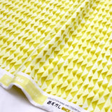 Cotton + Steel Once Upon A Time Little Mountain Knits - Citron - half yard - Nekoneko Fabric