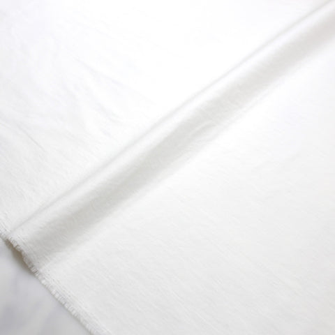 (chope) Kokochi Typewriter Cotton - Off White - 50cm - Nekoneko Fabric