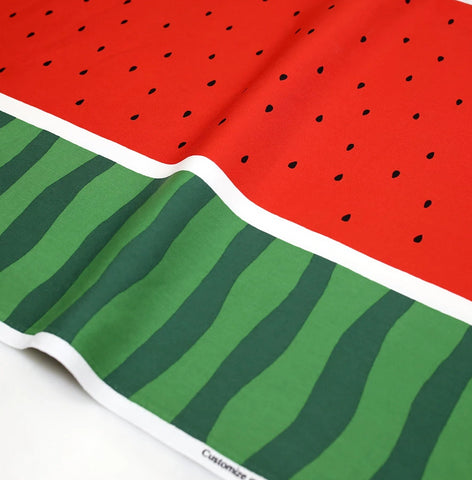 Kokka Watermelon Cotton Oxford - Red - 50cm