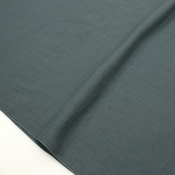Kobayashi Solid Color Double Gauze - Dark Green - 50cm - Nekoneko Fabric