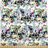 Kayo Horaguchi Botanical Garden Soft Canvas - Black - 50cm - Nekoneko Fabric