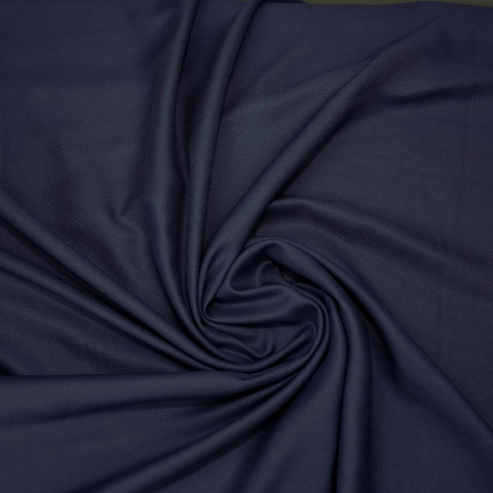 Atelier Brunette Viscose Crepe - Midnight - 50cm