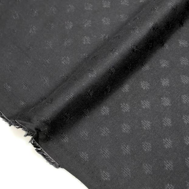 Atelier Brunette Diamond Viscose - Black - 50cm