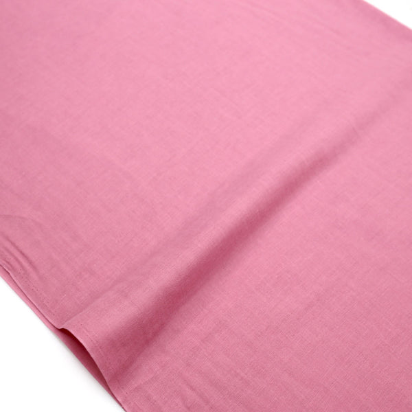 Kobayashi Solid Color Double Gauze - Rose - 50cm - Nekoneko Fabric