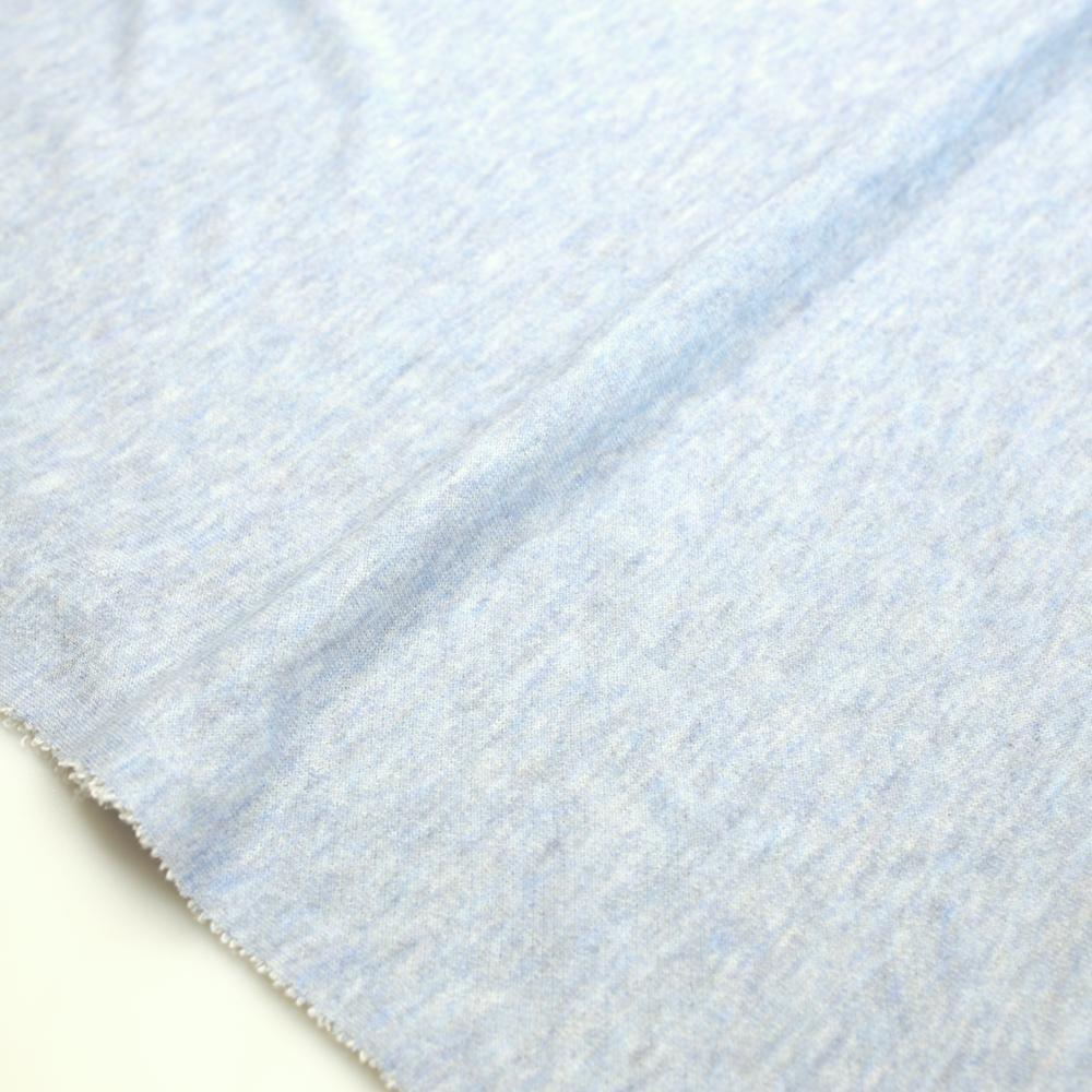 Japanese Baby French Terry Solids - Blue - 50cm - Nekoneko Fabric