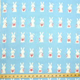 Putidepome Kiyohara Rabbit Soft Canvas - Blue - 50cm
