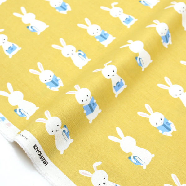 Putitdepome Kiyohara Rabbit Soft Canvas - Mustard - 50cm