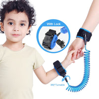 Children's Anti Lost Wrist Link With Lock: (an Upgrade)