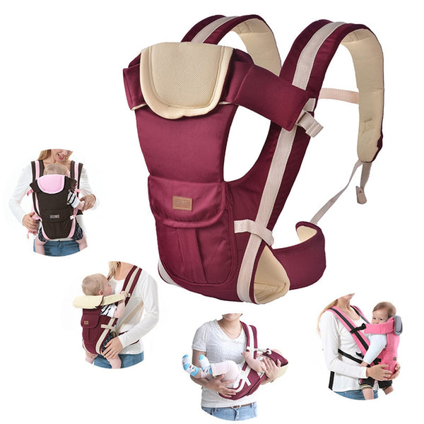 Baby Carrier: Multi-functional, Front Facing, High Quality, Kangaroo Pouch style (recommended for babies 2 to 30 months and up to 35 lbs.)