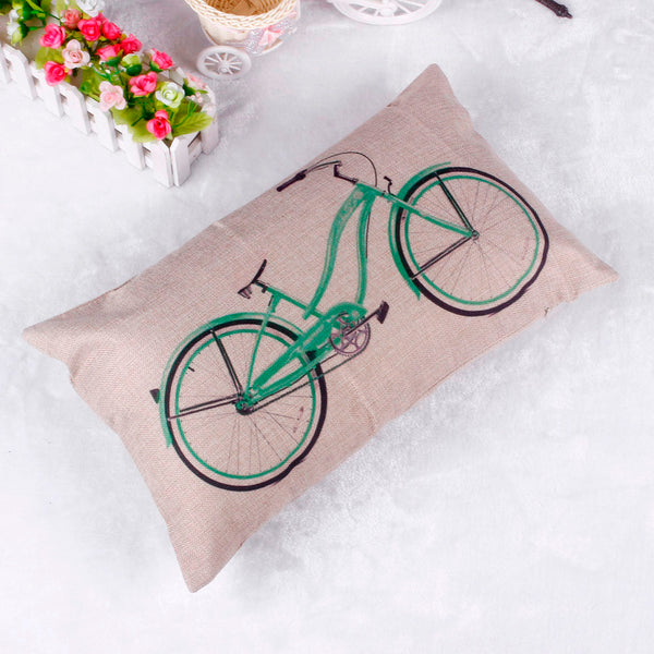 Happy home 30*50CM  Pillow Case Pillow Cover Living Room   Home Decorate Square Pillowslip Waist Pillow Shams