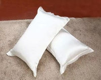 Svetanya (2pc/Lot) Silk Pillowcase Standard Pillow Case White/Black/Pink pillow Sham/Cover 50*70cm 47*74cm 51*66cm 51*91cm