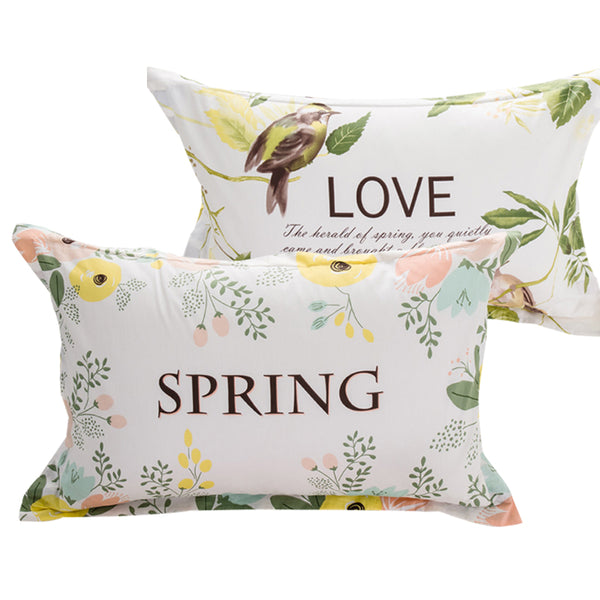 "Pillow Cover/ Sham/ Pillow Case: 2pcs./1 pair;  19"" * 29"" (48*74cm) (for small pillows) Printed Pillow Shams"